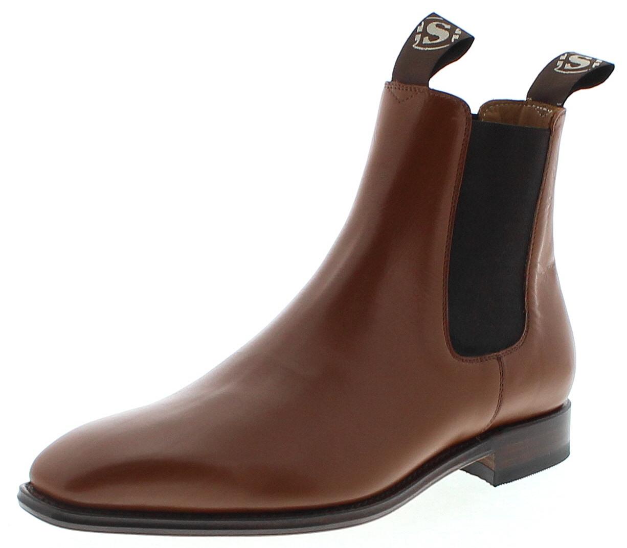tolle sorten mäßiger Preis Bestbewertete Mode Sendra Boots 5595 COLLIN Box Jamaica Herren Chelsea Boot - braun