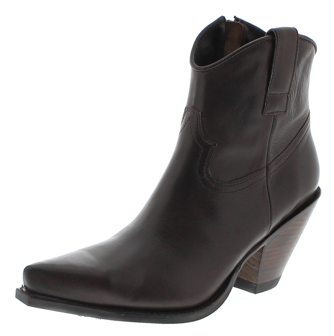 Sendra Boots 15521 Marron Damen Westernstiefelette - braun