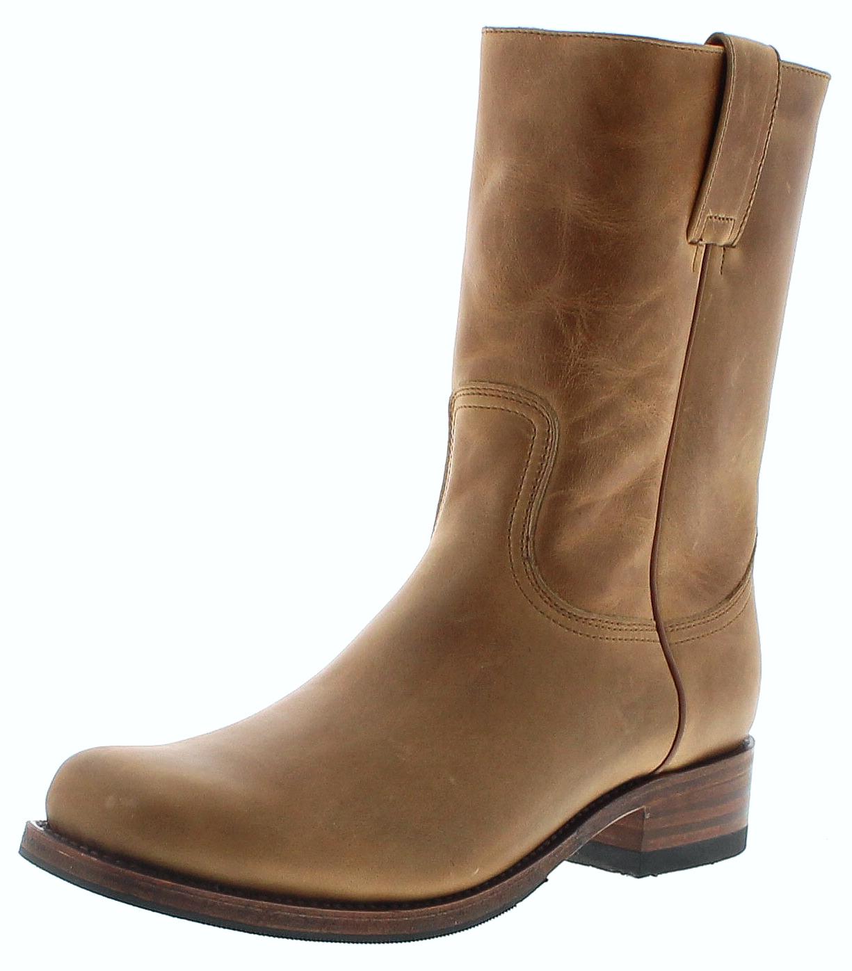 Sendra Boots 4503 Teak Lederstiefel mit Merinofell Futter - braun