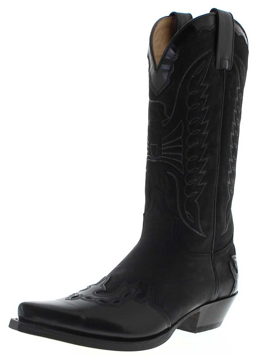 Sendra Boots 2560 WEST Negro Western Boots - black