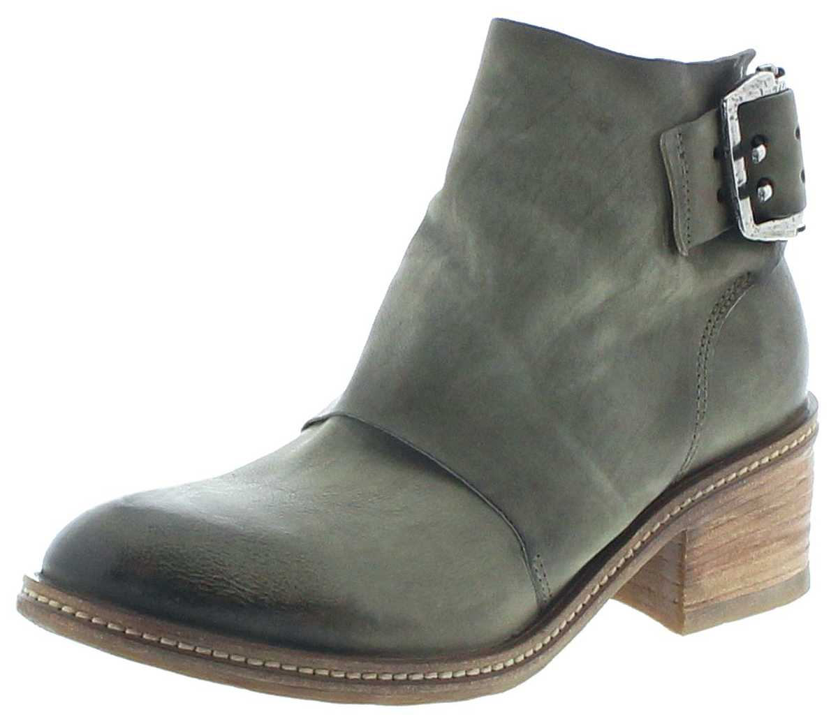 A.S.98 694203 Military Women Fashion Shoes - green