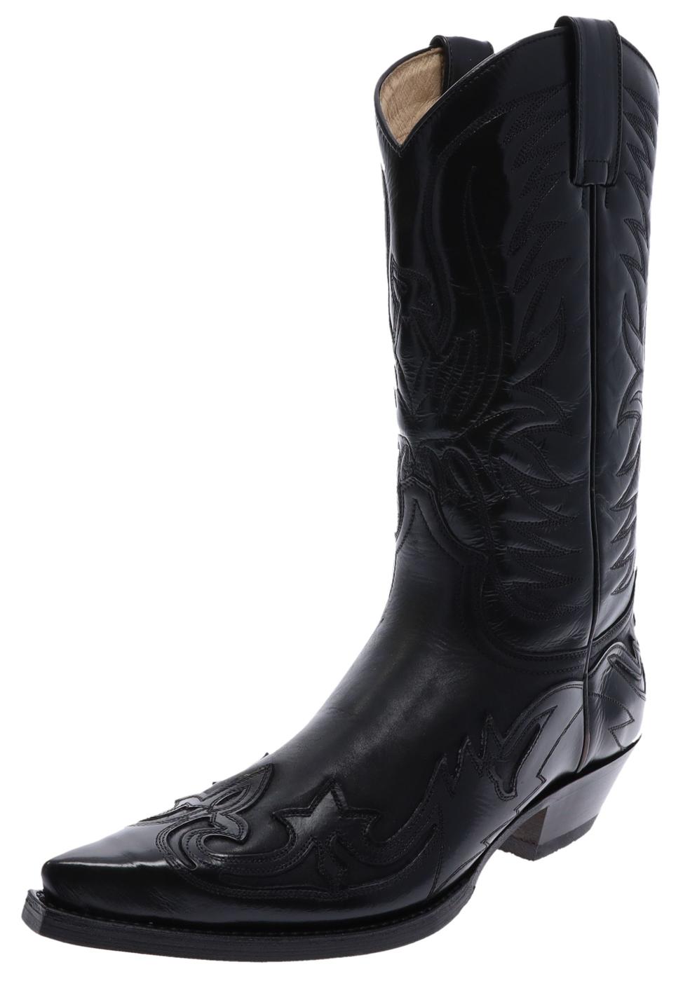 Sendra Boots 3241 WEST Florentic Sprinter Negro western laars - zwart