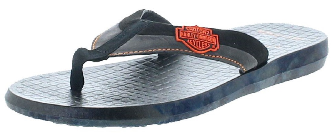 Harley-Davidson D93500 ADAMS Black Mens Sandal - black