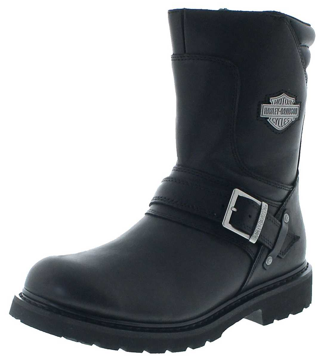 Harley-Davidson D95194 BOOKER Black Men Engineer Boots - black
