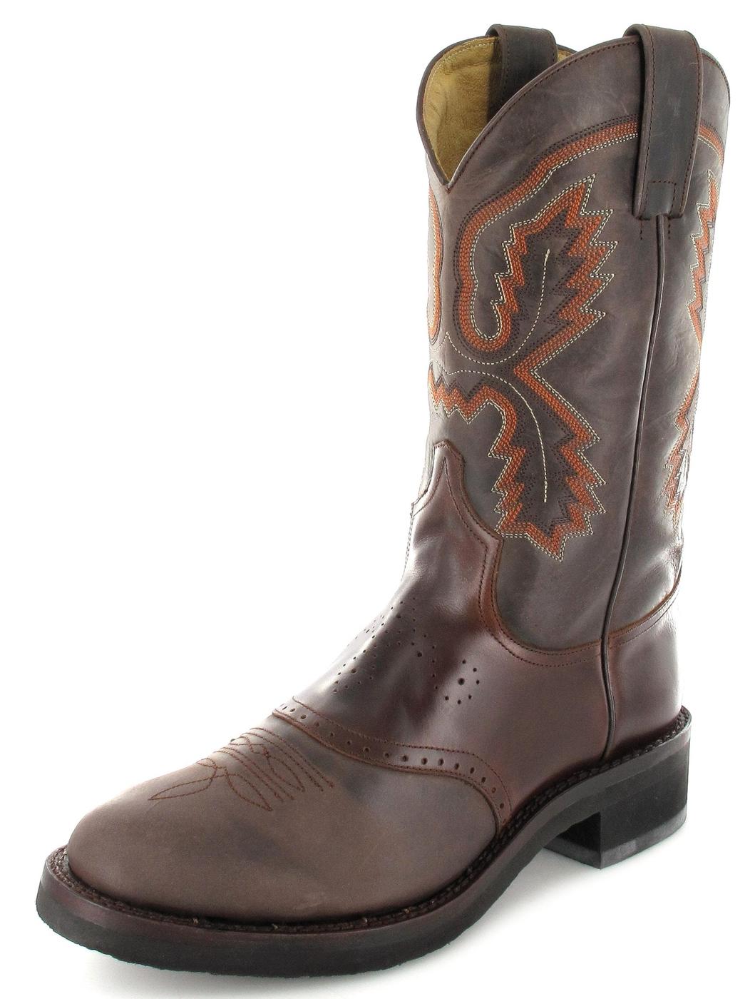Sendra Boots 5357 Seahorse Damen Westernreitstiefel - braun