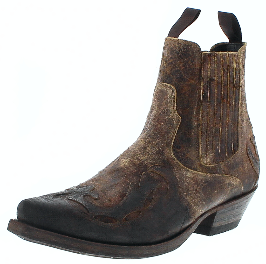 Mayura Boots 1931 HARRIER Test Cuoio Men's Western Ankle Boot - brown