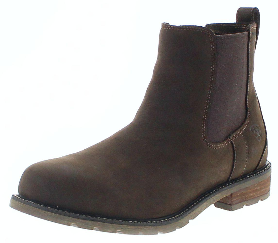 Ariat 24949 WEXFORD H2O JAVA waterproof men's Chelsea Boots - brown