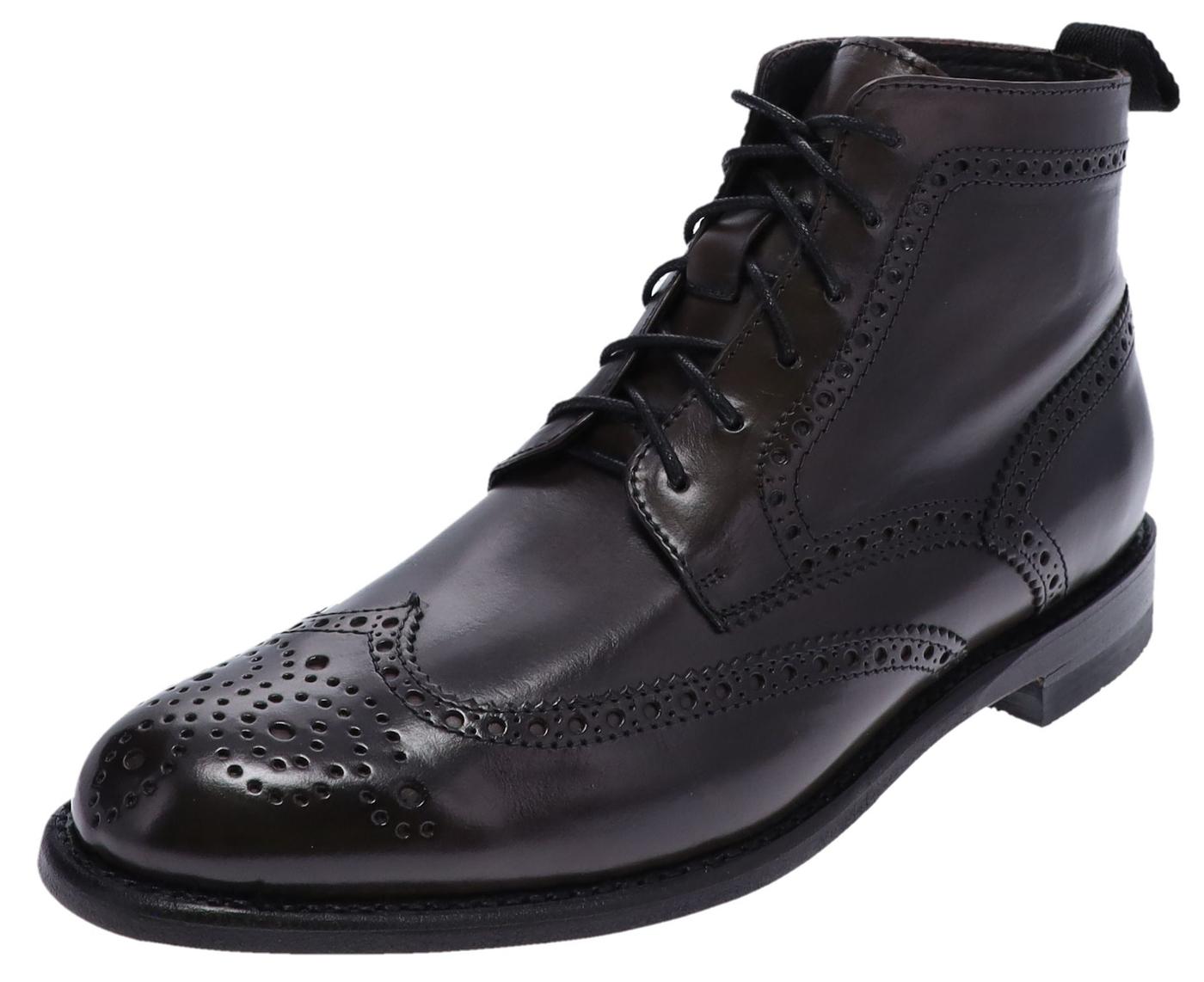 Sendra Boots 10742 Grey Men Business Shoes - grey