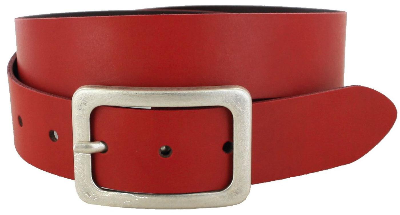 Vanzetti V5386-350 Red Damen Ledergürtel - rot