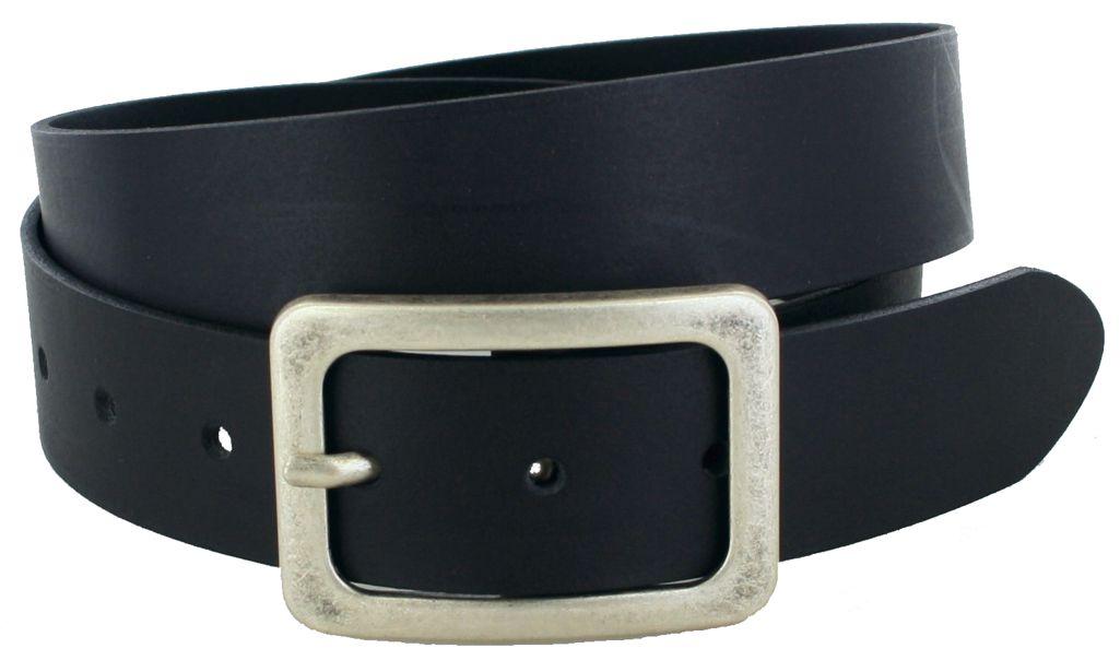 Vanzetti V5386-790 Black Ladies Leather Belt - black