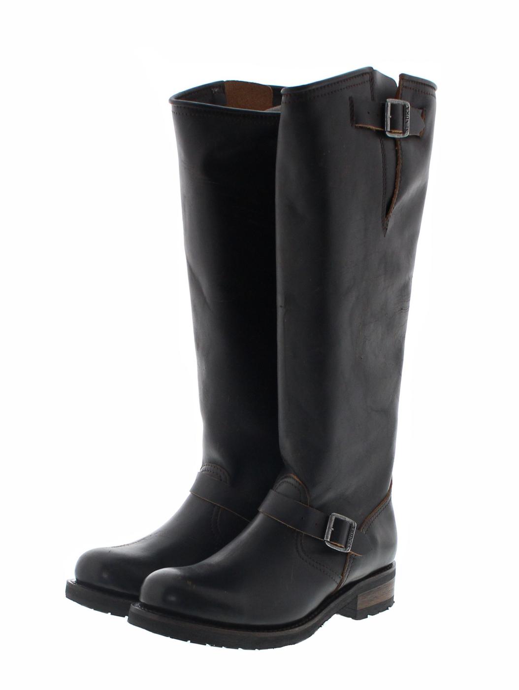 Sendra Boots 16084 Second Hand Negro Marron Damen Engineerstiefel braun