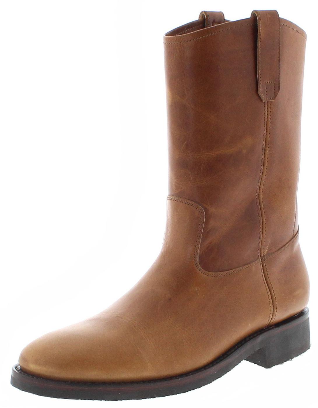 Sendra Boots 14968 Evolution Tang Lederstiefel mit Gummisohle - braun