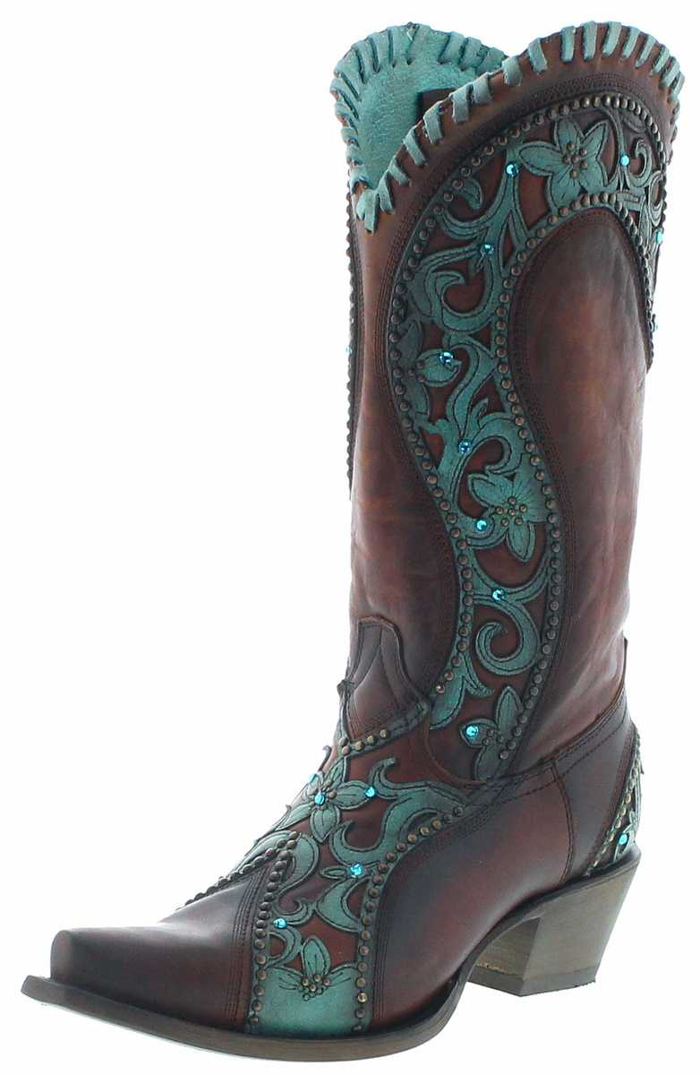 Corral Boots E1538 Western Boots - brown