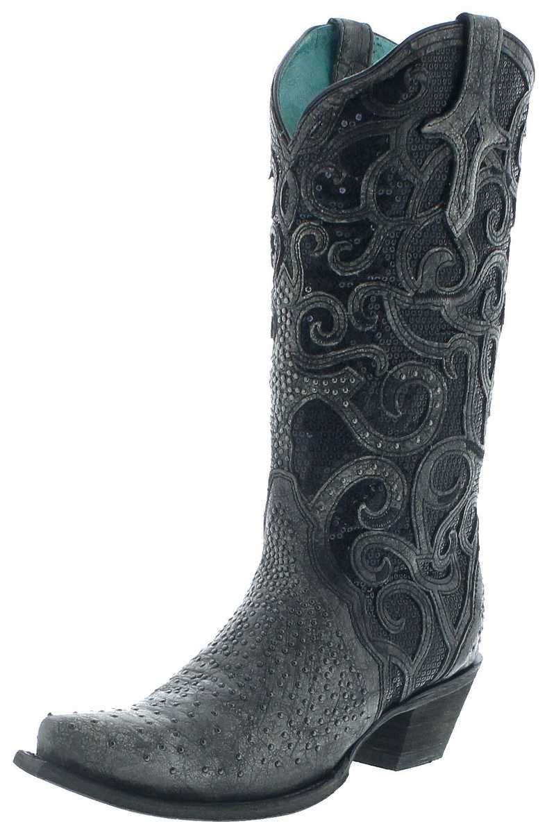Corral Boots C3446 Western Boots - black