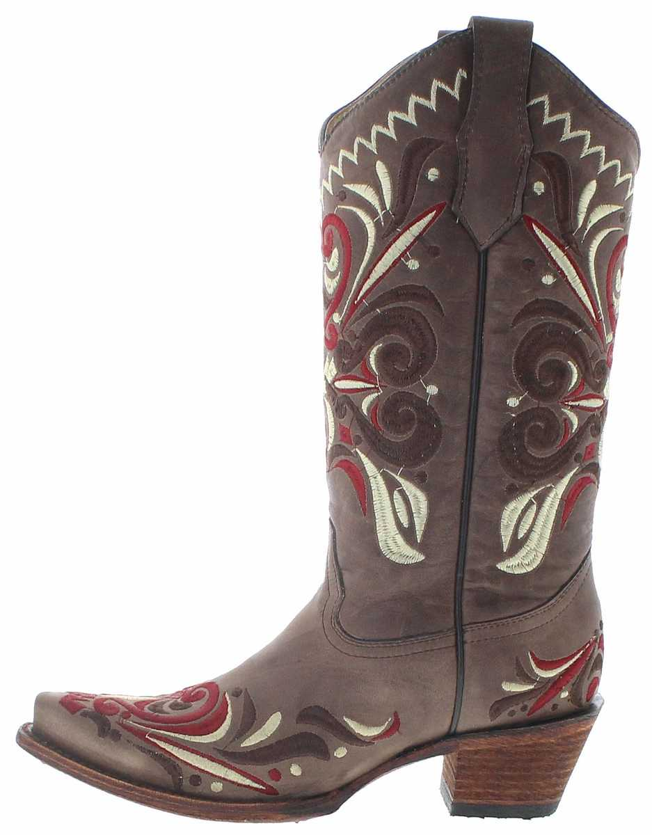 Brown Boots Westernstiefel Braun Circle G L5445 Damen cT1JFKl3