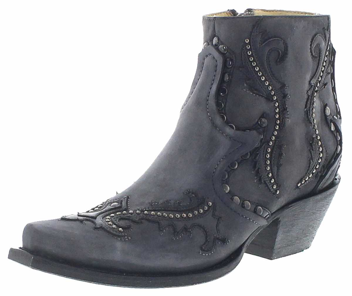 Corral Boots G1381 Grey Western Bootees - grey