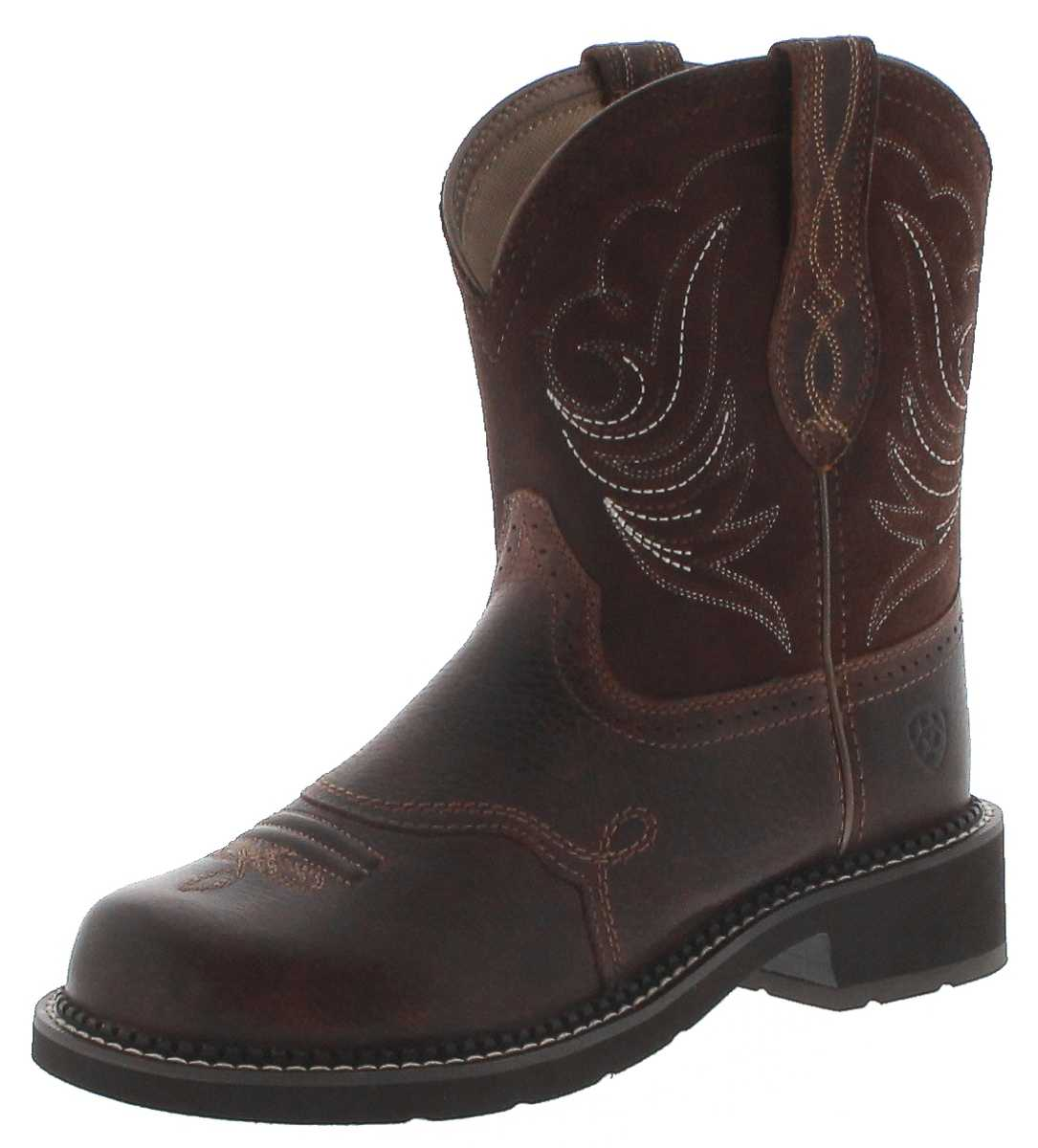 Ariat 29492 FATBABY HERITAGE DAPPER Copper Kittle Ladies Western Riding Boots - brown