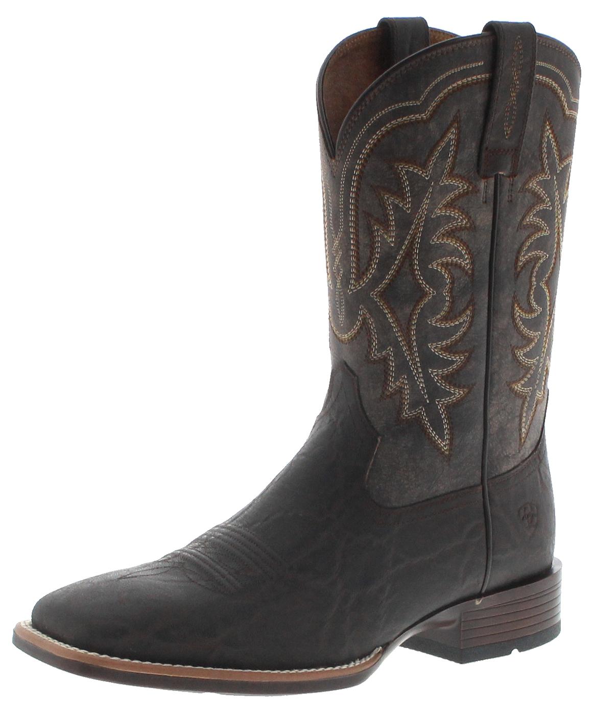 Ariat 29717 RYDEN ULTRA Chocolate Men's Western Riding Boots - brown