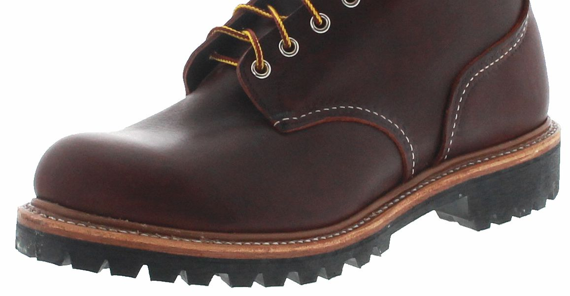 Red Wing Shoes 4585 LOGGER Brair mens lace up boots brown