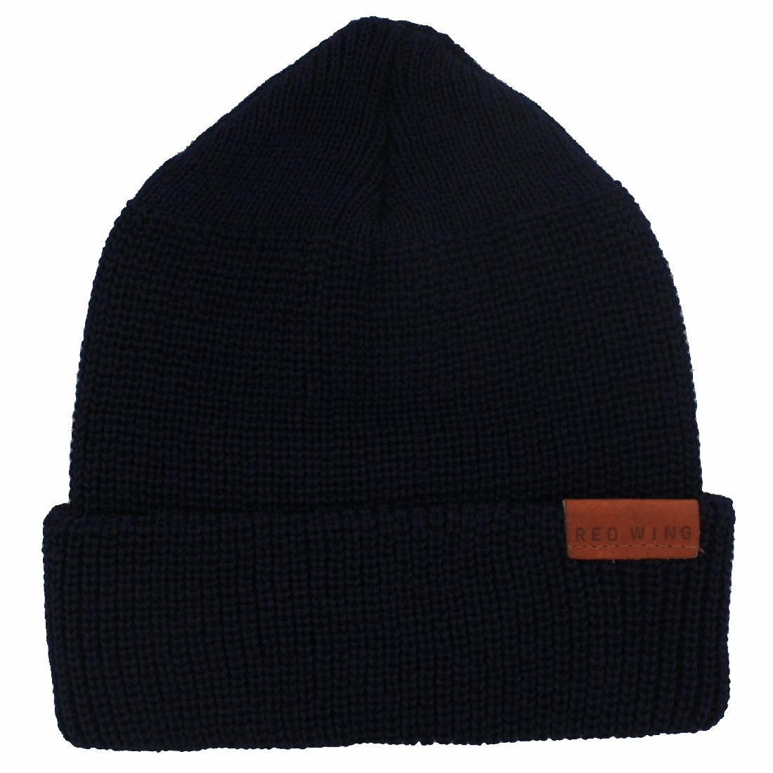 Red Wing Shoes 97490 MERINO WOOL KNIT CAP Men's wool hat - blue