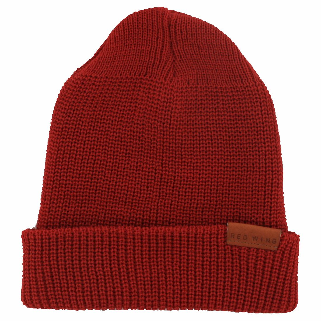 Red Wing Shoes 97493 MERINO WOOL KNIT CAP Men's wool hat - red