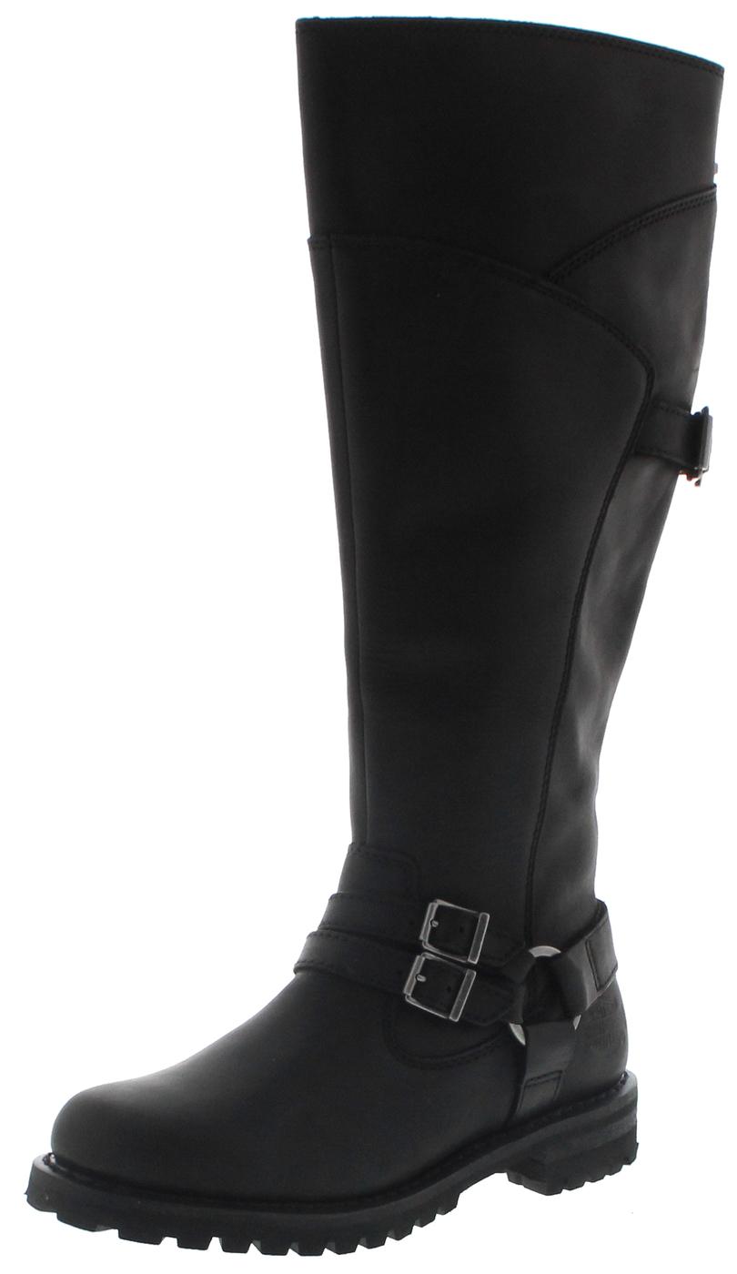 Harley-Davidson D84325 LOMITA Black Ladies Engineer Boots - Black