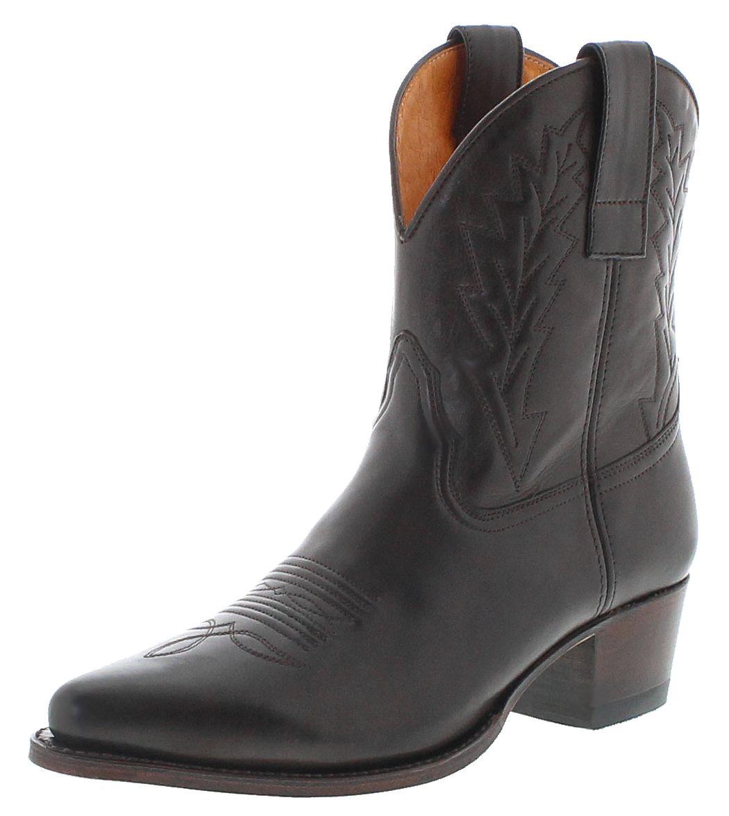 Sendra Boots 16367 Marron Ladies Western Stifelette - brown