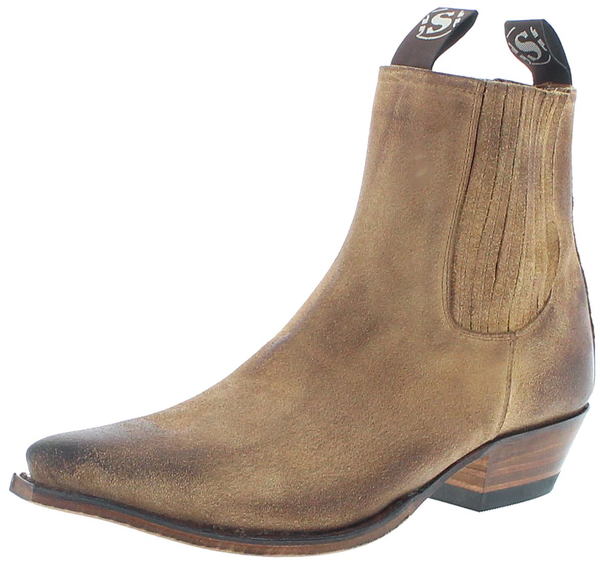 Sendra Boots 1692 Camello Marron Western Booties - brown