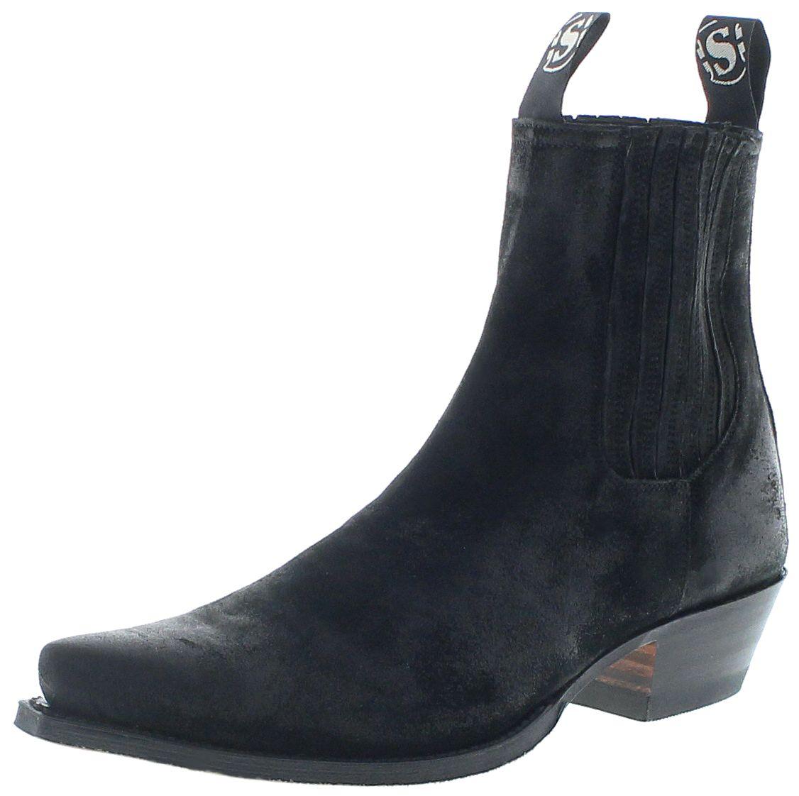 Sendra Boots 1692 Usado Negro Western Bootee - black