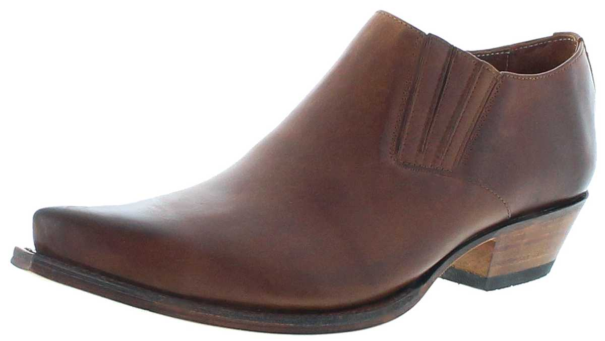 Sendra Boots 4133 Evolution Tang Western Shoes - brown