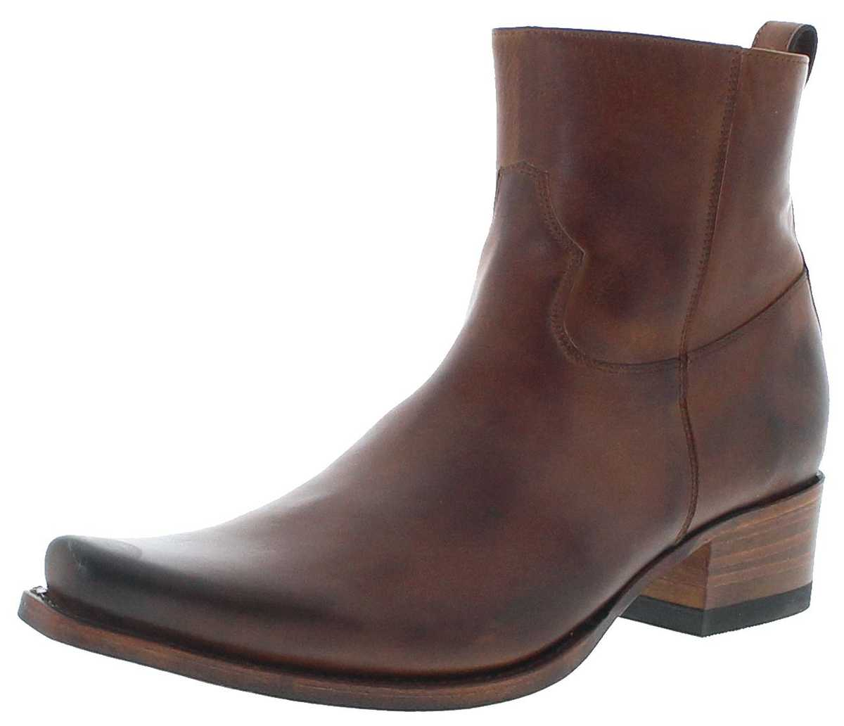 Sendra Boots 12322 Tang Men's Leather Bootee - brown