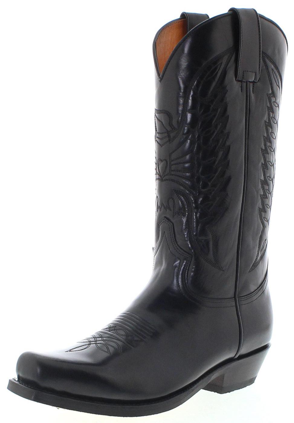 Sendra Boots 2073 58 Negro Westernstiefel - schwarz