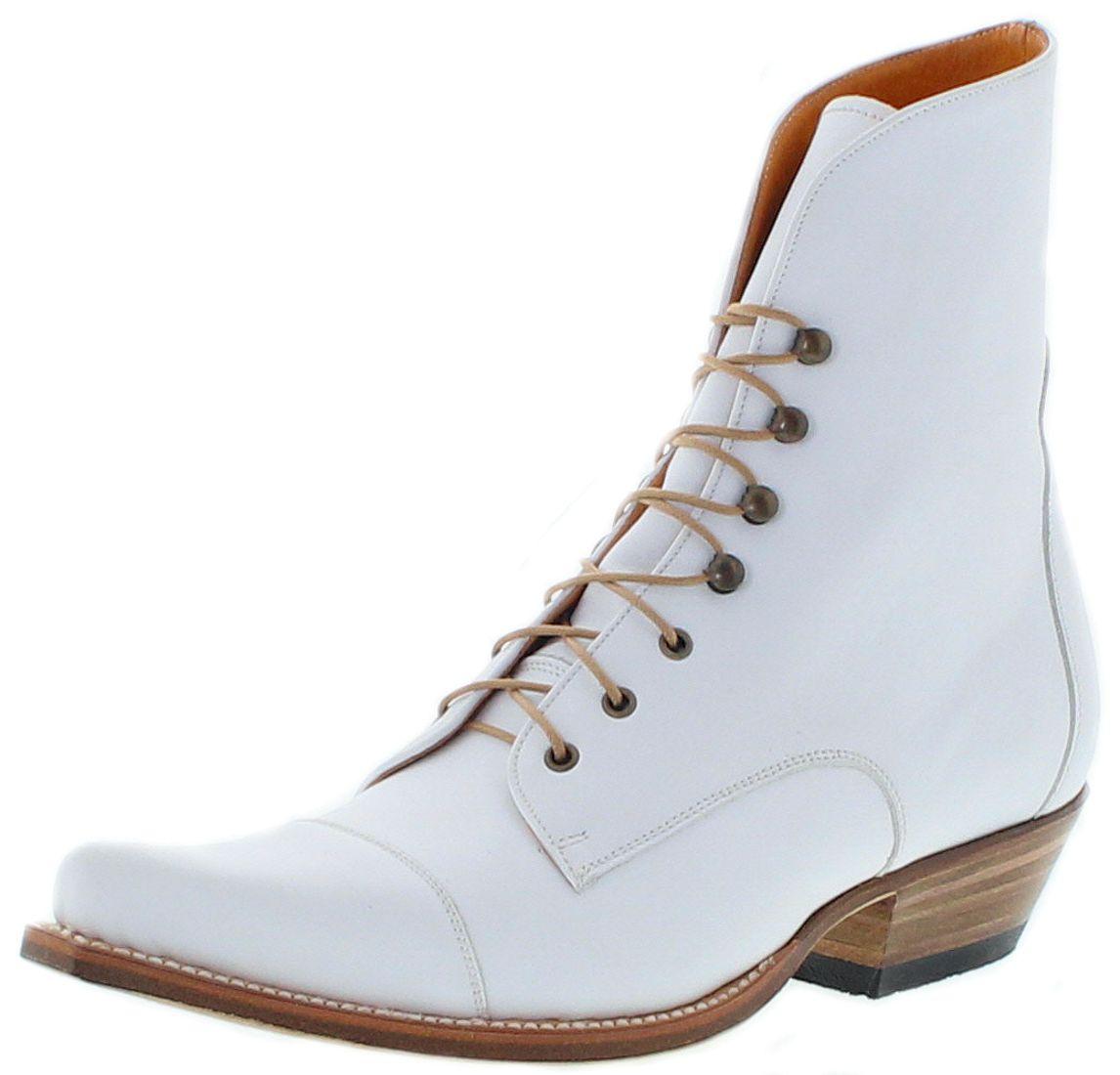 Sendra Boots 2699 Bartolo Blanco Ladies Laced Boots - White