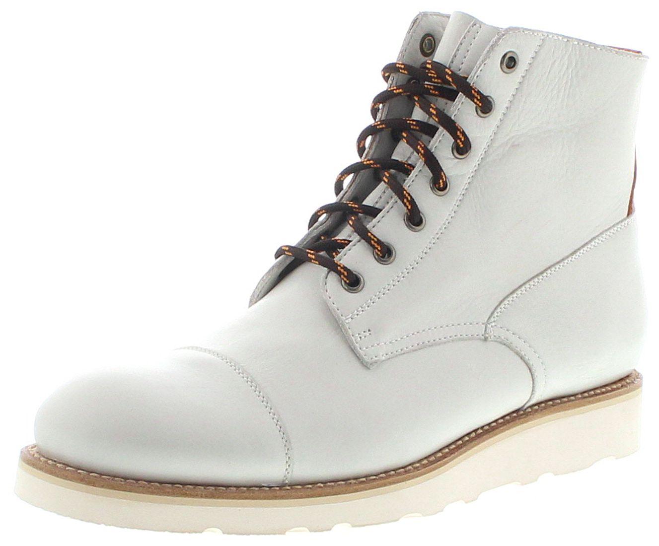 Sendra Boots 16401 Avorio Herren Schnürschuhe - grau