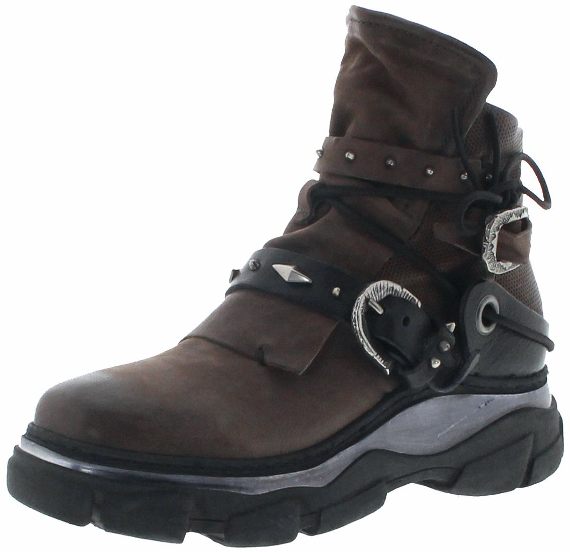 A.S.98 587202 Fango Ladies Laced Boots - brown