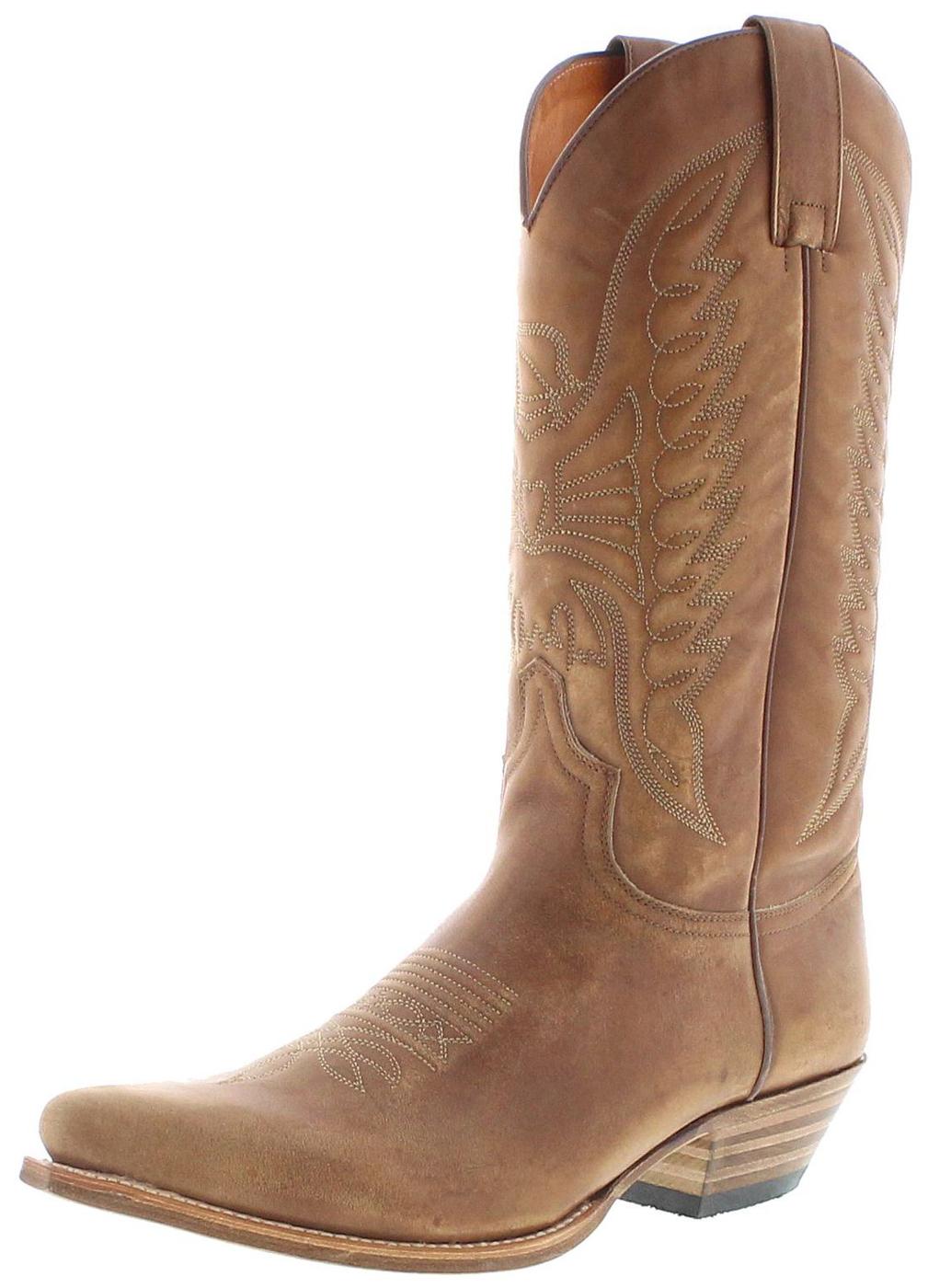 Sendra Boots 2073 Pico Lavado Western Boots - brown