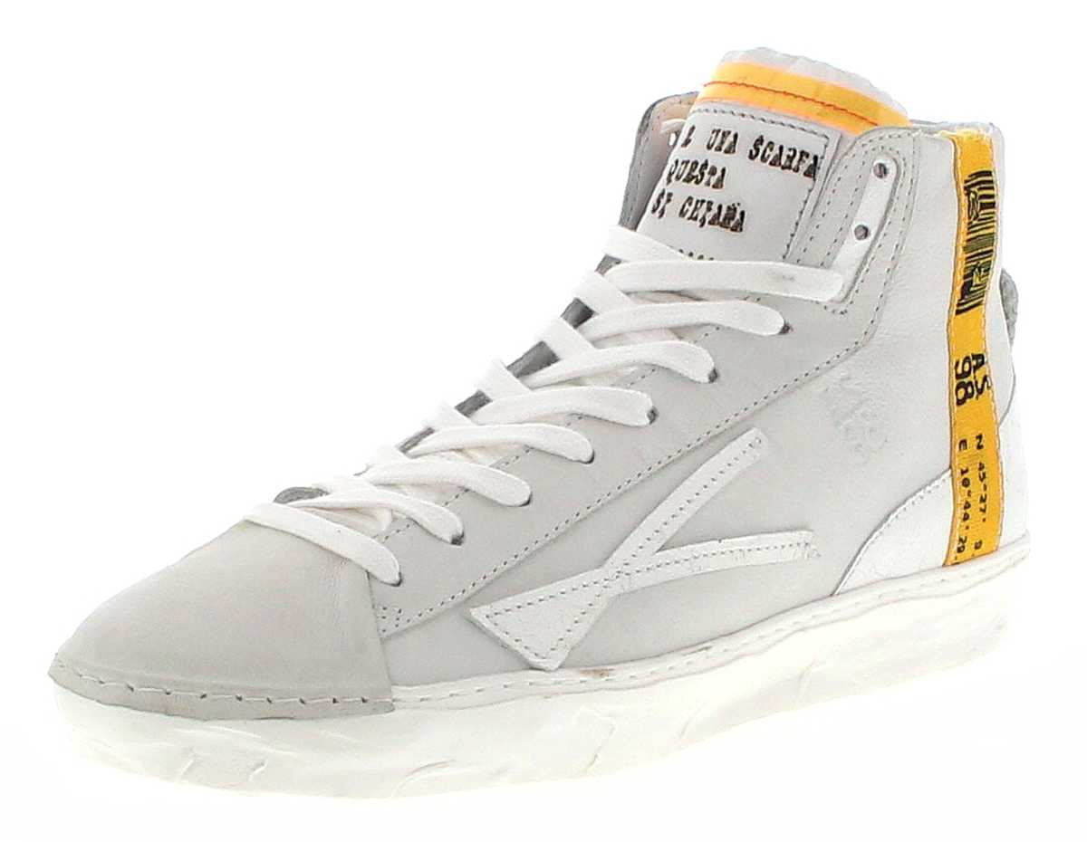 A.S.98 453219 Bianco Men's Fashion Sneaker - White