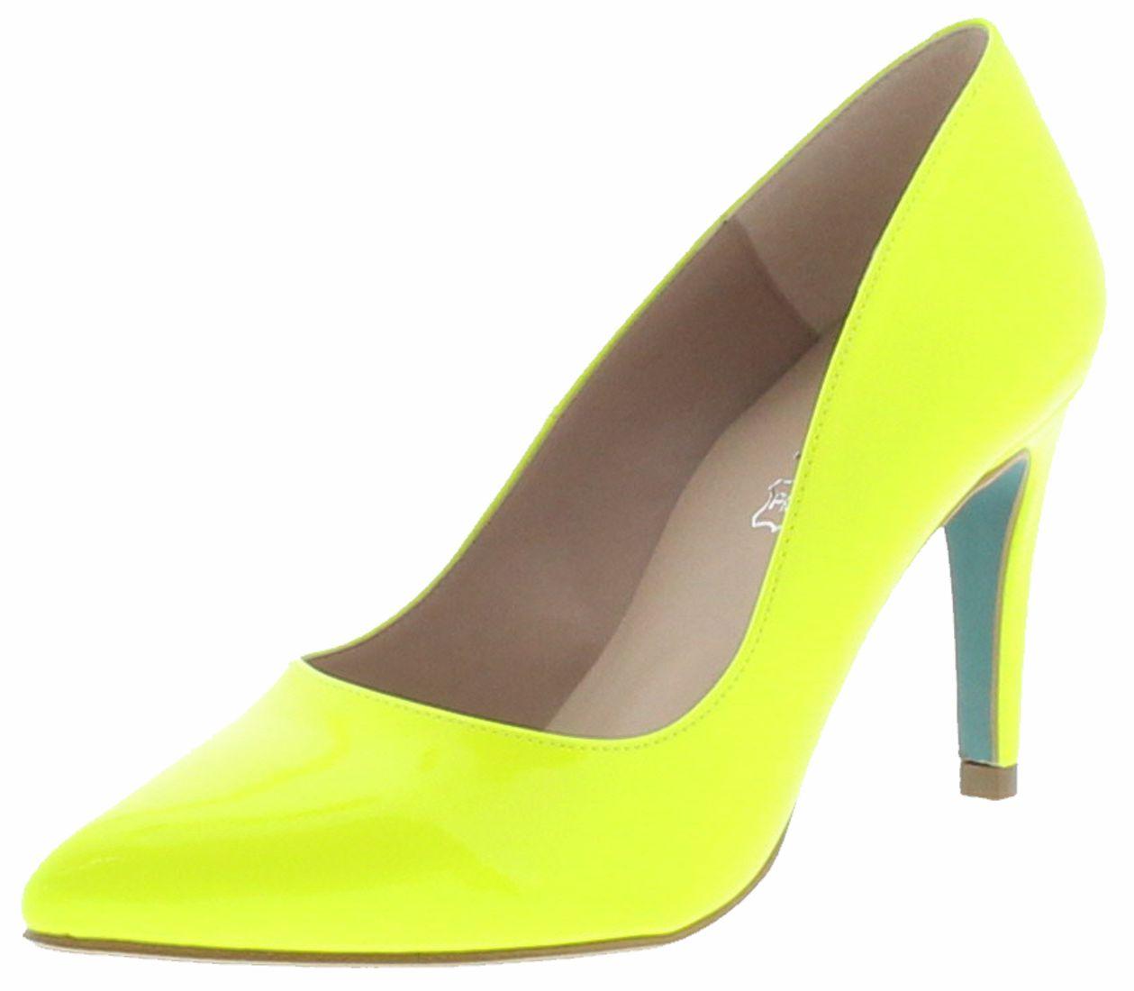 Giulia Charol Fluor Ladies Pumps - yellow