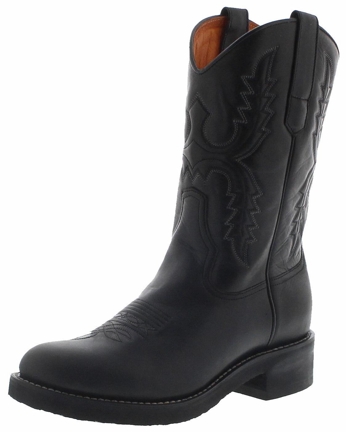 Sendra Boots 11615 Negro Mens Western Riding Boots - black