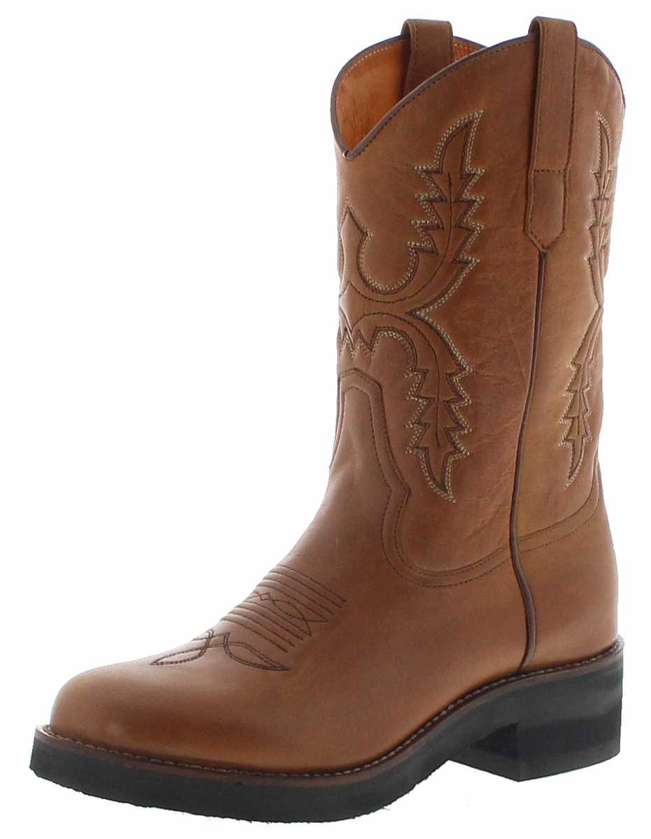 Sendra Boots 11615 Mostaza Womens Western Riding Boots - brown