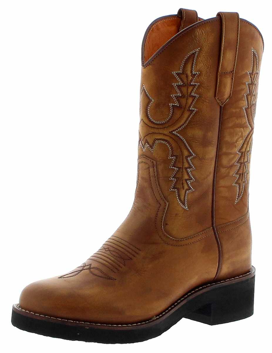 Sendra Boots 11615 Lavado Womens Western Riding Boots - brown