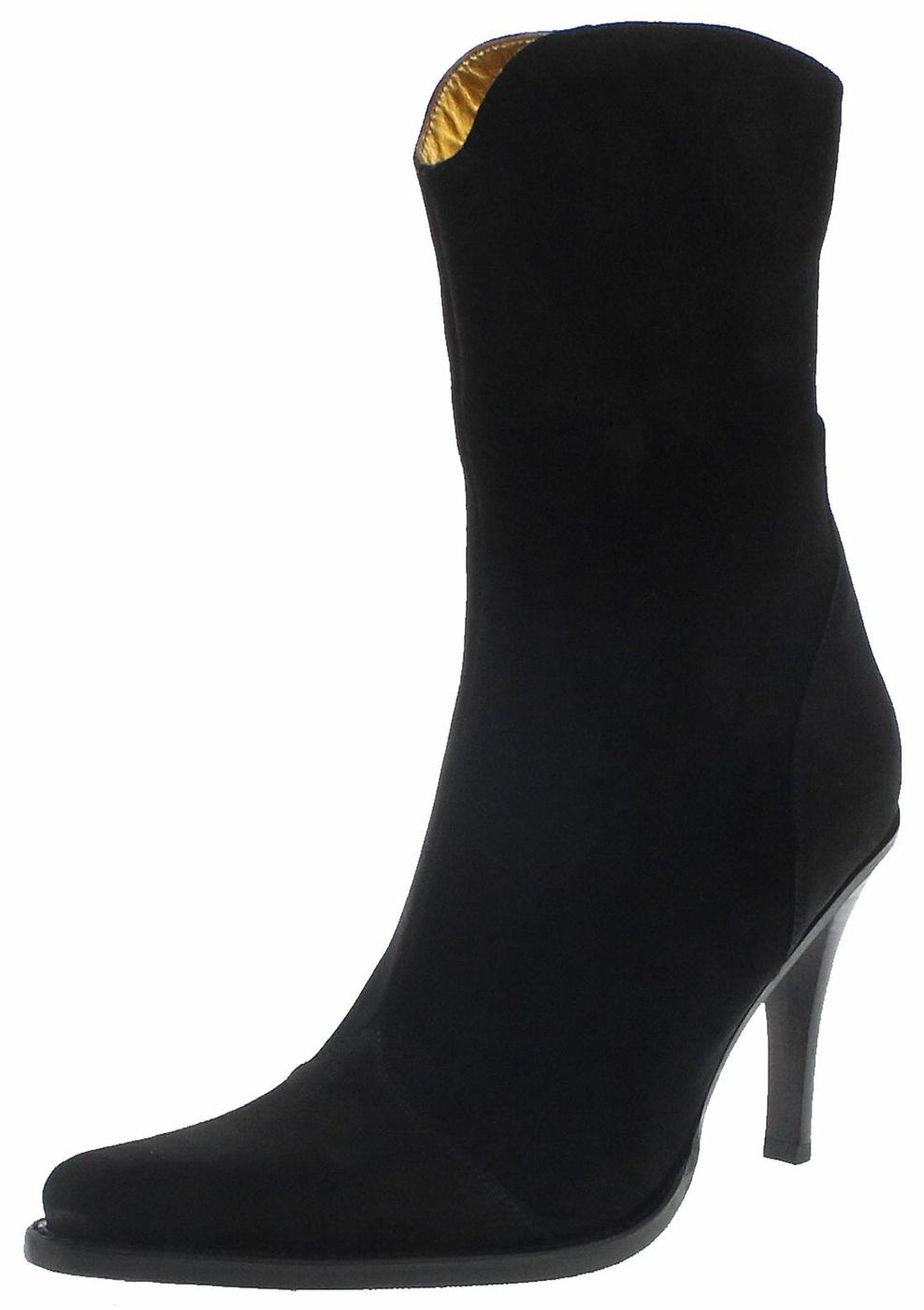 FB Fashion Boots BRAVO Serraje Negro Ladies Stiletto - black