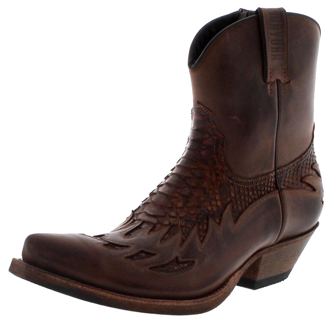 Mayura Boots MB012 Castana Mens Western Bootee - brown