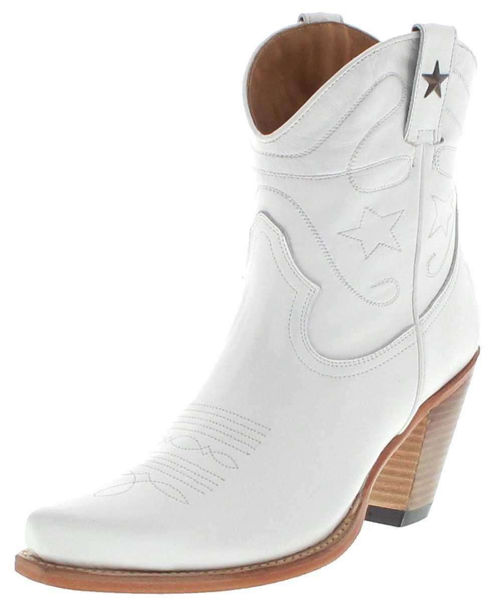 FB Fashion Boots 2498 Blanco Ladies Western Bootee - white