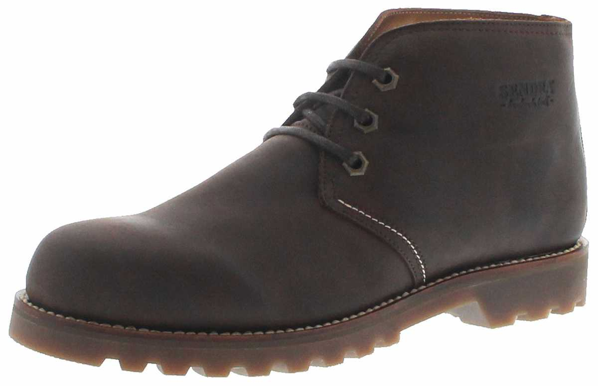 Sendra Boots 15993 Chocolate Men Lace Shoe - brown