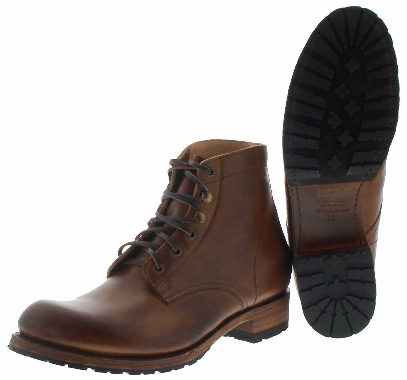 Sendra Boots 10604 Lighting Tang Herren Schnürstiefel braun