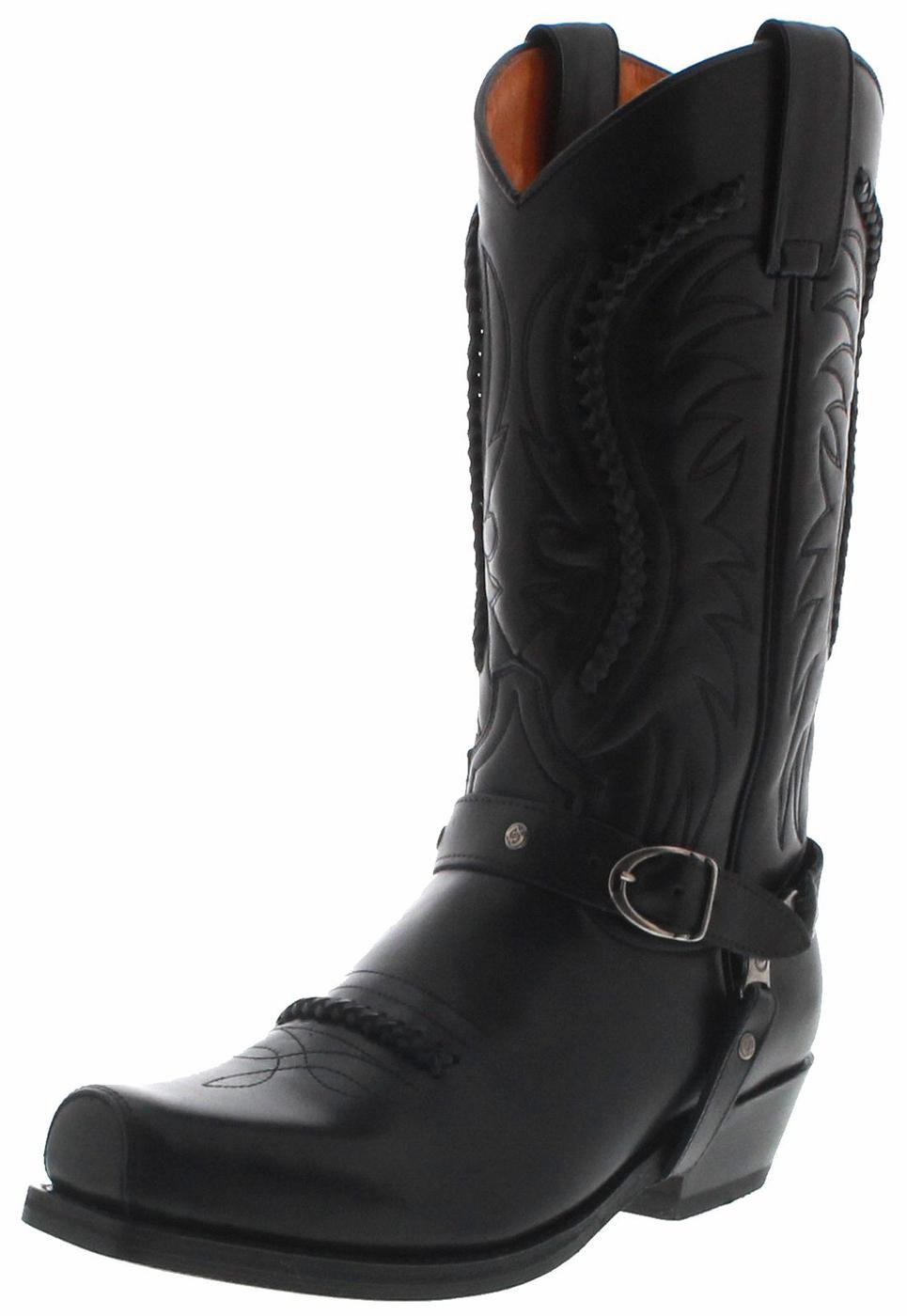 Sendra Boots 3434 Snowbut Negro cowboylaars - zwart