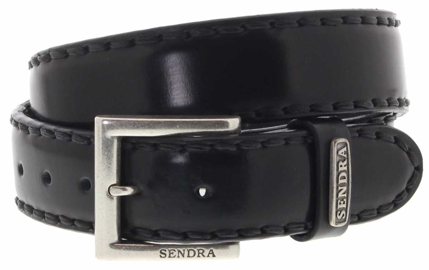 Sendra Boots 8563 Negro Leather Belt - black