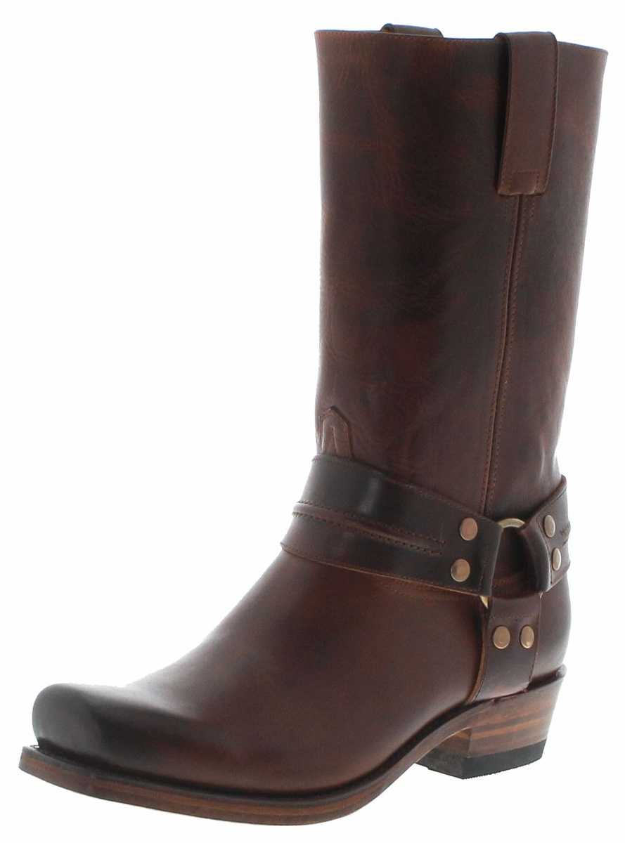 FB Fashion Boots BLUES HIGH Evo Tang Biker Boots - brown