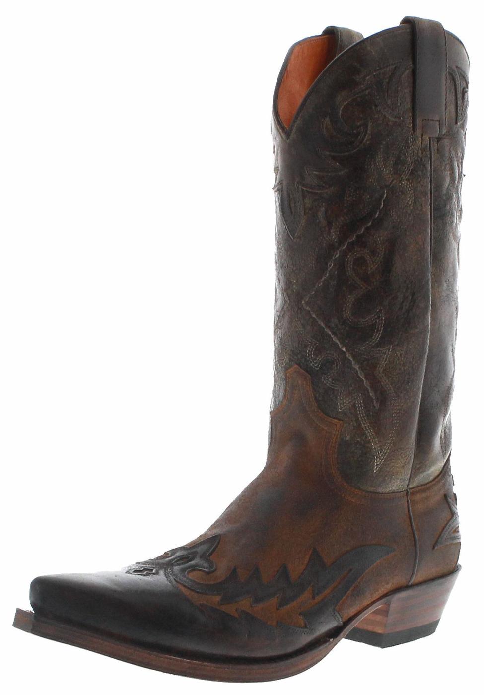 Sendra Boots 9669 Quercia Camello Men Western Boots - brown